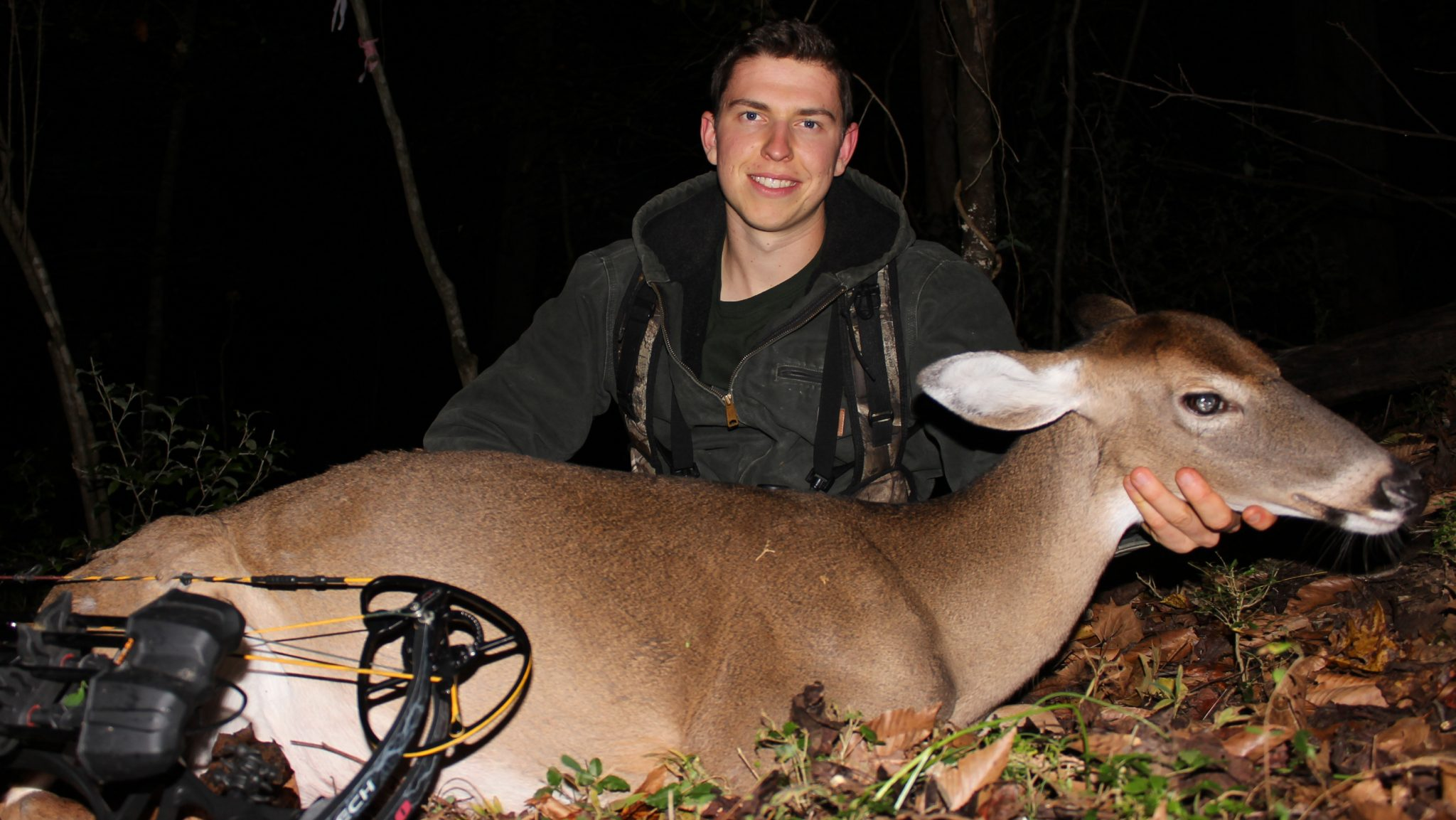 thermal hunting doe harvest